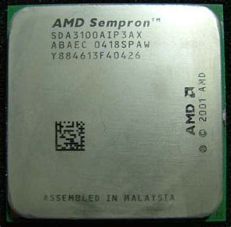 Amd Sockel 754 by Techware Labs Reviews Amd Sempron 2800 3100