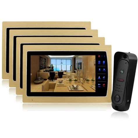 ysecu 10 quot tft door phone doorbell home security