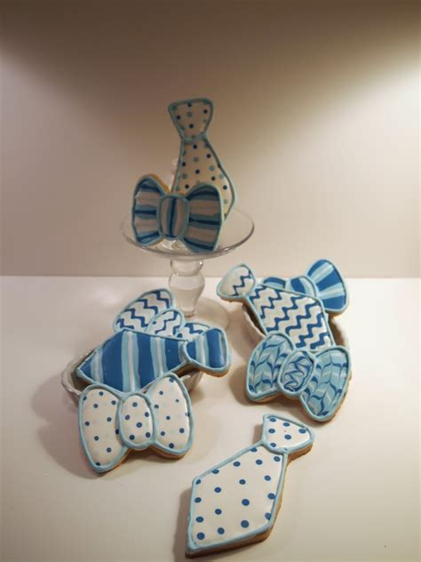 Bow Tie Baby Shower by Something Sweet Tie And Bow Tie Baby Shower Cookies