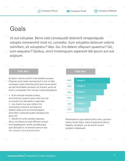 organisational design proposal business proposal template by caallen graphicriver