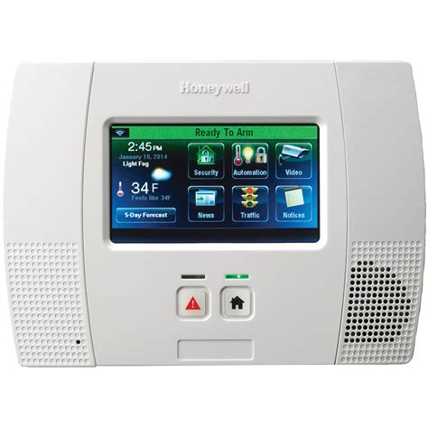 Panel Alarm System l5200 honeywell lynx touch wireless alarm system