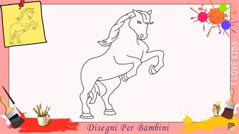 disegni cavalli facili disegni di cavallo come disegnare un cavallo facile passo