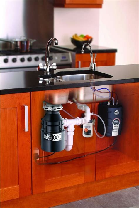 sink with garbage disposal best garbage disposal sink erator kitchen food waste