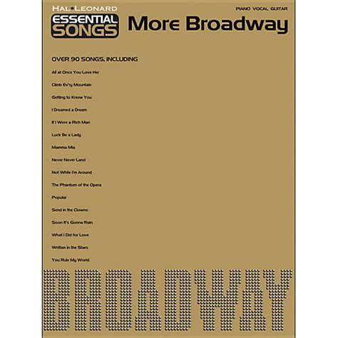 backstage pass to broadway more true tales from a theatre press books hal leonard essential songs more broadway arranged for