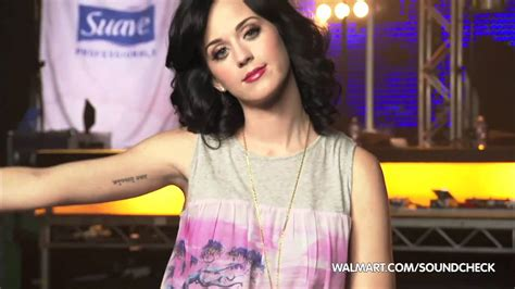 katy perry tattoo removed katy perry on walmart soundcheck