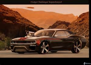 dodge challenger supercharged