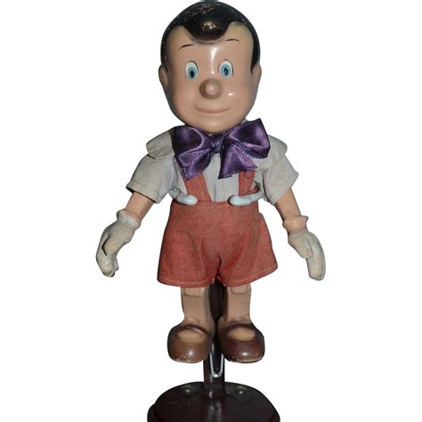 composition pinocchio doll composition doll pinocchio jointed original clothing