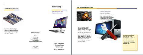 membuat brosur yang bagus cara gang membuat brosur dengan microsoft word