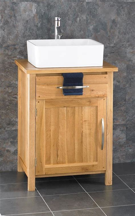 Freestanding Vanity Cabinets by Alta 90cm Freestanding Solid Oak Door Cabinet Sink