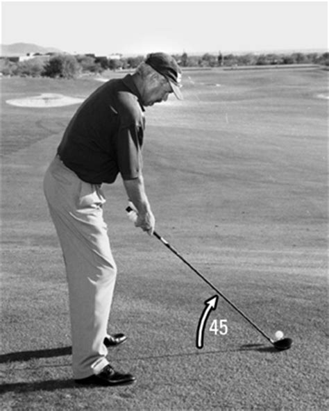 horizontal swing plane how to establish your golf swing plane dummies