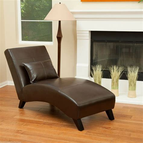 lounge sofa chair curved chaise lounge chair in chocolate brown leather