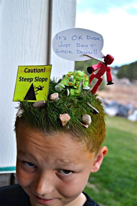 the 25 best crazy hair day boy ideas on pinterest crazy stikbots crazy hair day idea for boys lou lou girls