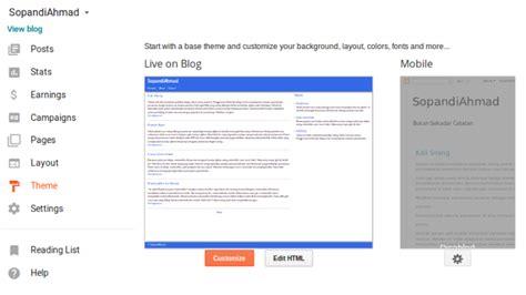 membuat web versi mobile dengan php pengaturan theme blogger versi mobile agar efektif til
