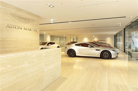 aston martin dealership aston martin opens its largest dealership in tokyo
