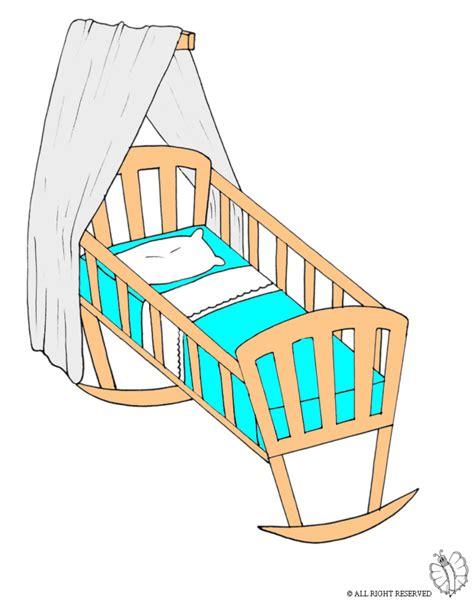 immagini di culle per bambini sta disegno di culla a colori