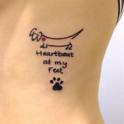 weiner dog tattoo dachshund tattoos dachshunds