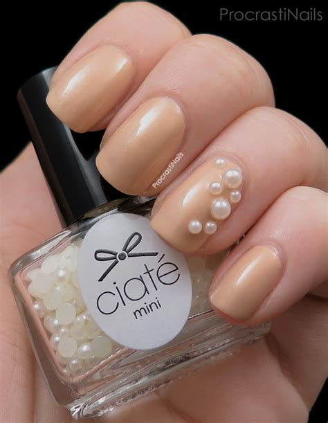 Ivory Color Shape Pearl For Nail Or Craft swatches 2014 ciat 233 mini manor advent calendar december 1 to 6 procrastinails