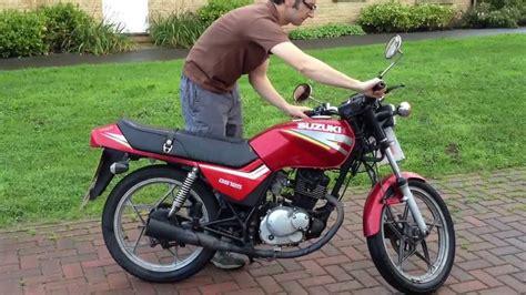 Suzuki Gs125 Suzuki Gs125 Starting And 360 176