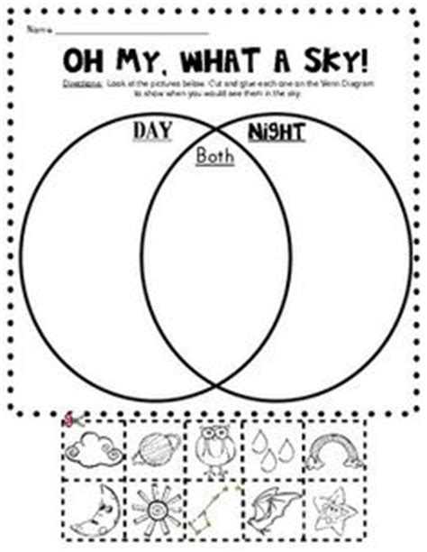 printable venn diagram ks1 1000 images about teaching day and night on pinterest