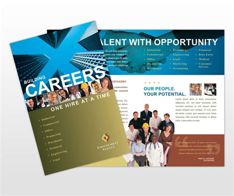 career brochure template best photos of brochure template fair brochure