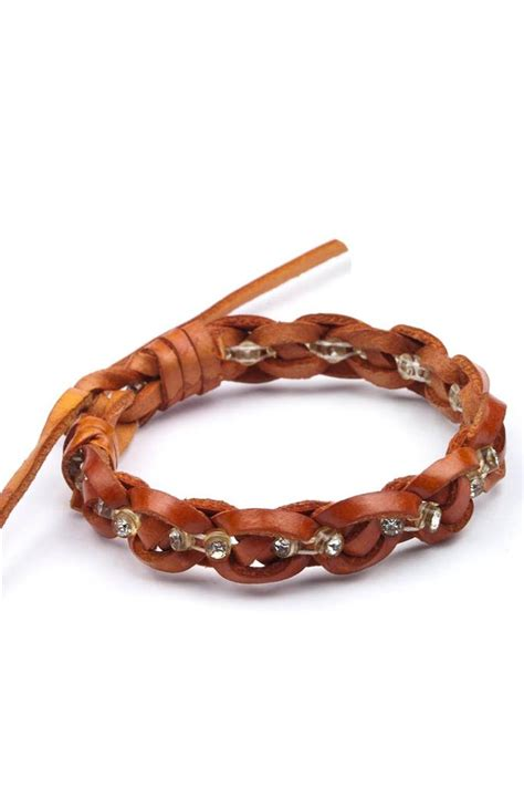 new faux pu leather friendship infinity handmade bracelet