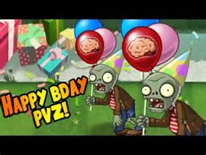 plants zombies 2 birthday party pinata