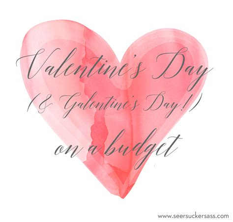 s day budget s day or galentine s day on a budget