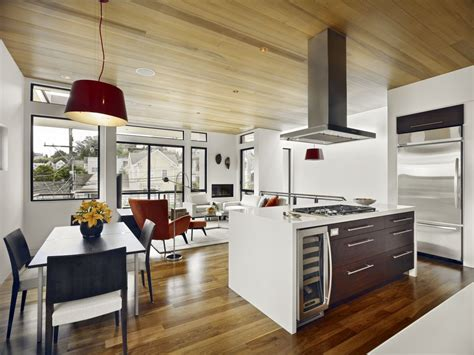 Kitchen And Lounge Design Combined Combined Kitchen With Living Room Design Ideas Gosiadesign