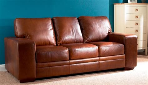3 seater leather couch chelsea aniline leather 3 seater sofa oak furniture