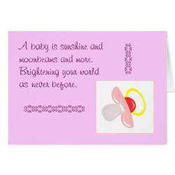 congratulations or baby shower greeting cards zazzle