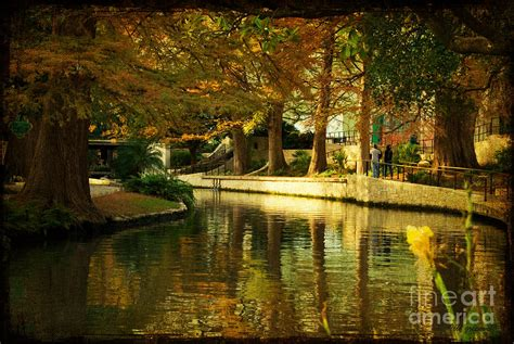in color san antonio fall in san antonio photograph by iris greenwell