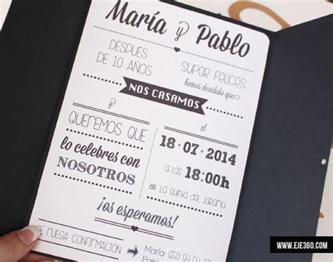 1434 03 invitaciones de boda en blanco y negro jpg jpg pictures to pin invitaciones de boda eje 360
