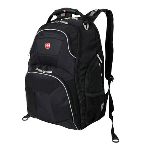 swissgear 18 5 in black scansmart backpack 16962415 the