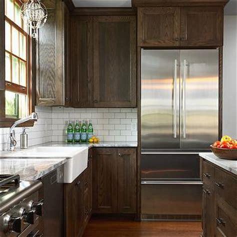 dark shaker kitchen cabinets dark brown kitchen cabinets transitional kitchen
