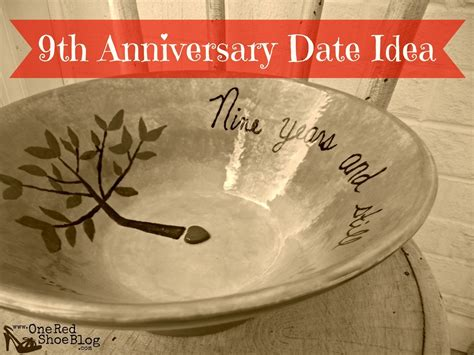 Wedding Anniversary Date Ideas by 9th Anniversary Pottery Idea For Anniversary Date