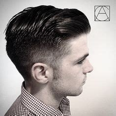 Pomade Nolans medium fade with a combover styled with paul mitchell tea tree grooming pomade