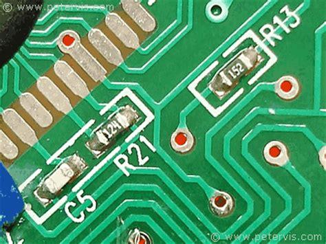 r12 resistor values dt830d circuit component values