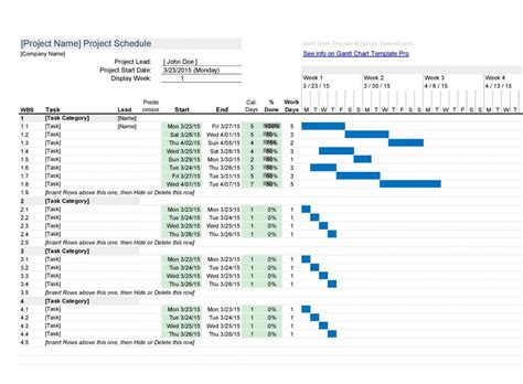 excel project manager the gantt chart on steroids online pc learning