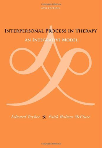 leadership skills interpersonal process in counseling and therapy books interpersonal process in therapy an integrative model