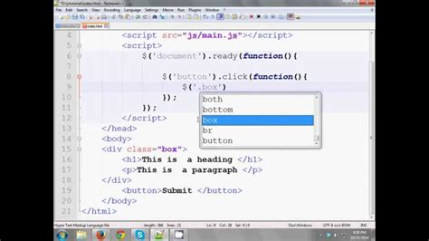 jquery tutorial in bangla jquery bangla tutorial 3 events youtube