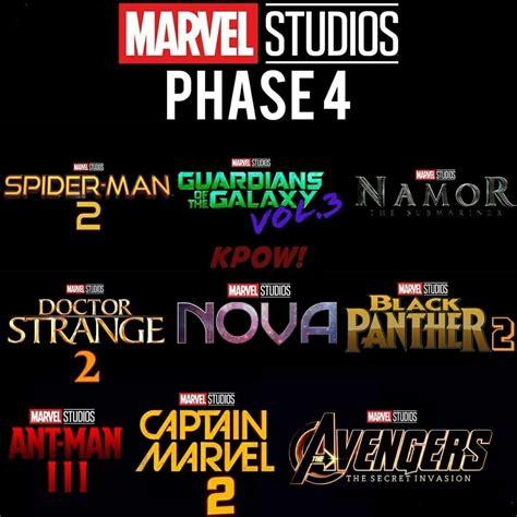 marvel film universe phase 4 marvvel phase 4 prediction marvel pinterest marvel