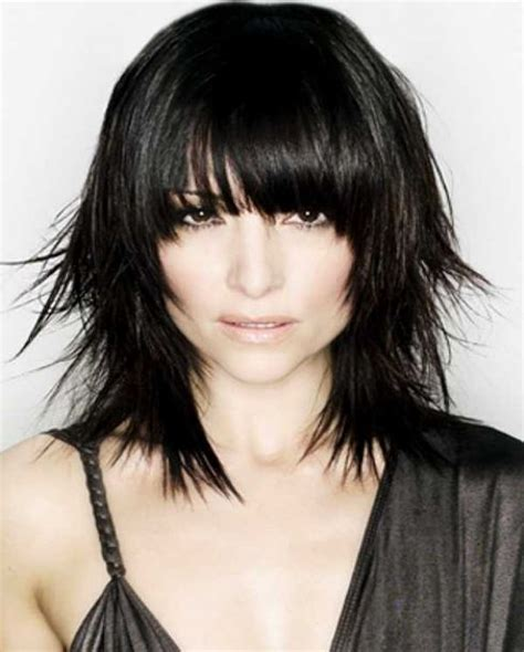 hair cut to lift face choppy hairstyles 2016 can help you look more funkier