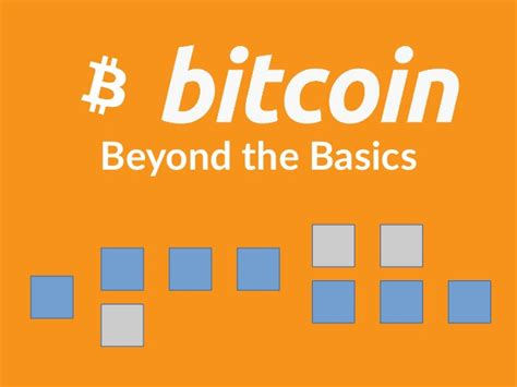 bitcoin tutorial ppt bitcoin beyond the basics