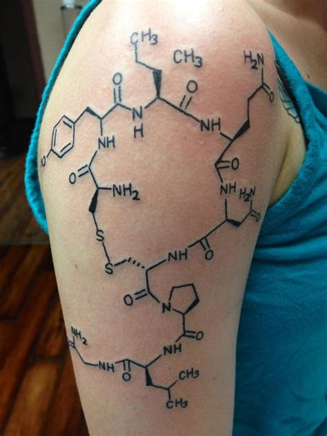 tattoo design help oxytocin which is known as the anti evil hormone it s