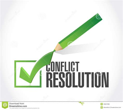 Disputing Background Check Conflict Resolution Check Illustration Design Stock
