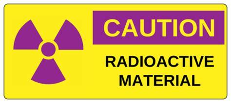 Caution Radioactive Material Label Templates Ol5925 Onlinelabels Com Caution Label Template