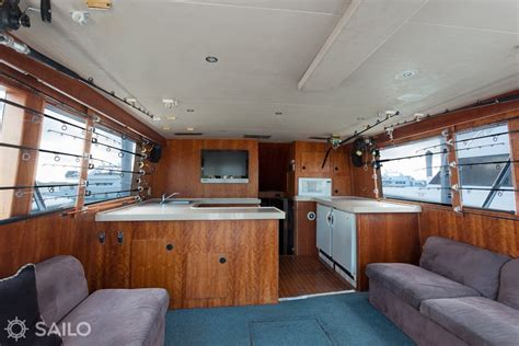 fishing boat interior rent a hatteras sports 53 motorboat in miami beach fl on