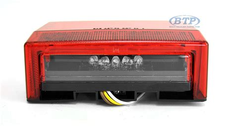 submersible boat trailer lights submersible led boat trailer light left hand standard mount
