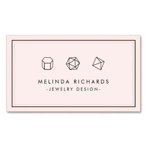 Jewelry Designer Business Card Templates by Jewelry Designer Pink Jewelry And Business Cards On