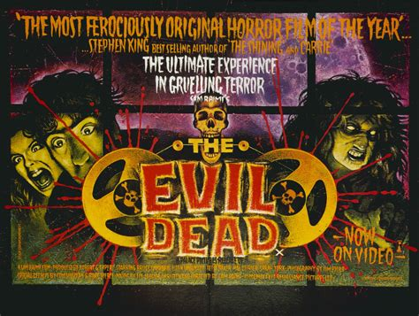film evil dead 1 the evil dead 1981 trashy movie posters